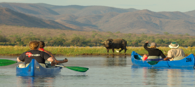 canoeing safari